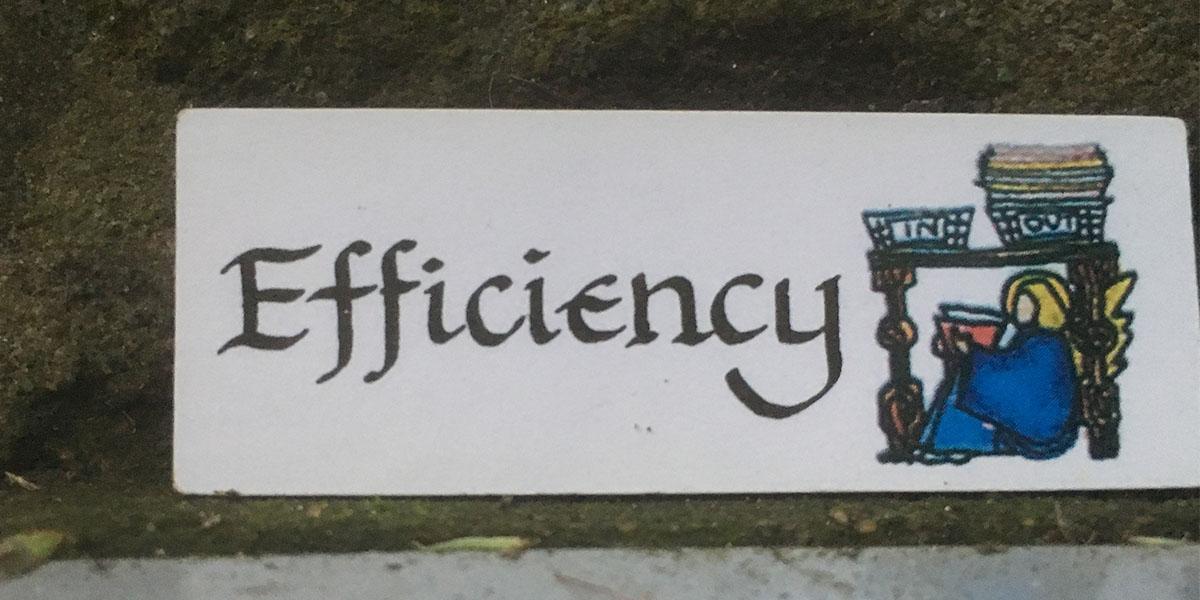 Angel of Efficiency