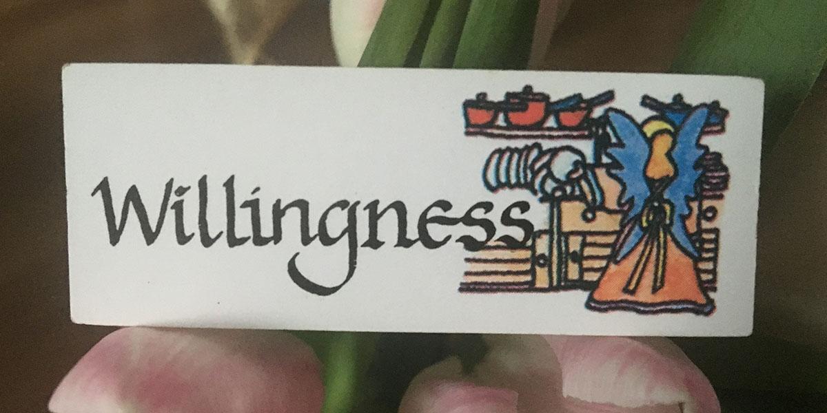 Angel of  Willingness